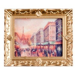 Paris Street In Frame