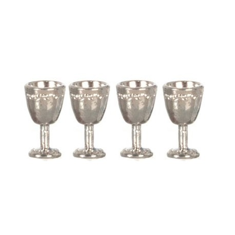 Antique Silver Goblets/4