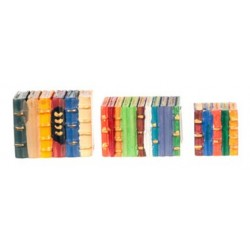 3 Colored Book Blocks