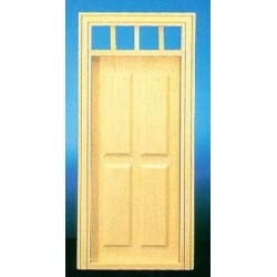 Traditional 4-Panel Door  sc 1 st  Superior Dollhouse Miniatures & Dollhouse Doors | Dollhouse Building Material - Superior Dollhouse ...