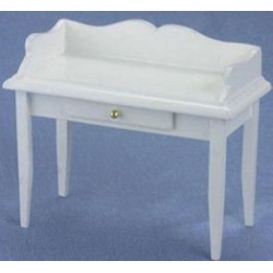 White Dollhouse Desk