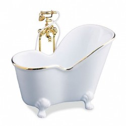Classic White Soaking Tub