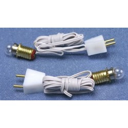Bulbs W/Sockets- 2/Pk