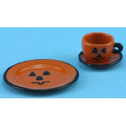 HALLOWEEN PLACE SETTING 3PCS.