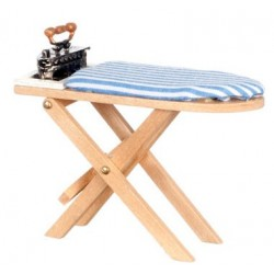 Wooden Ironing Board/Iron