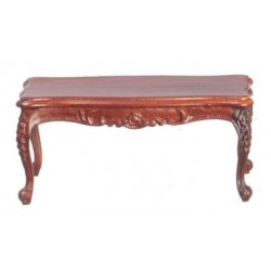 Rococo Coffee Table, Walnut