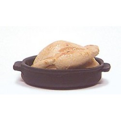 TURKEY IN BLACK PAN