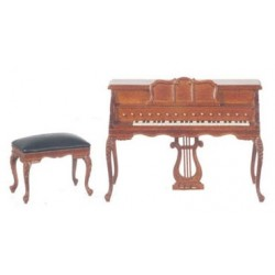 Chopin Piano W/Stool/Waln