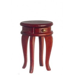 Small Round Commode/Mahog