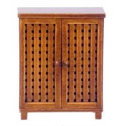 Bonaire Bath Floor Cabinet, Walnut