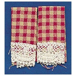 DISH TOWELS: COUNTRY RED (2)