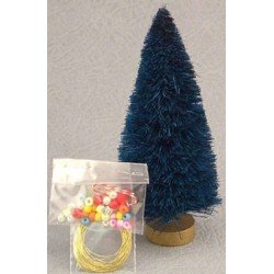 "4"" Birch Christmas Tree & Trim Kit"