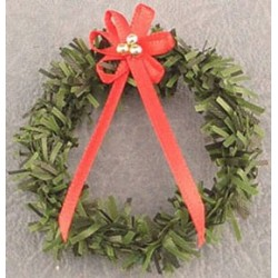SSN: WREATH W/RED BOW