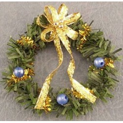 SSN: WREATH, BLUE/GOLD