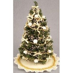SSN: WHITE/GOLD TREE