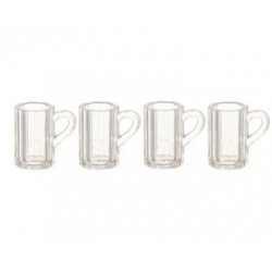 Beer Mugs/Clear/4