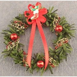 SSN: RED/GOLD WREATH