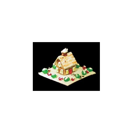 GINGERBREAD HOUSE-TABLE DECORATION