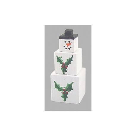 SNOWMAN BOXES STACKED