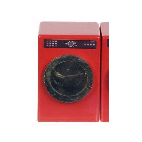 Red Washing Machine