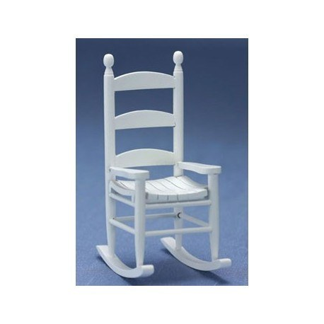Superieur Vintage White Rocking Chair