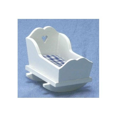 White Nursery Cradle
