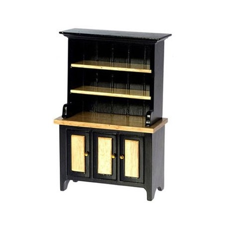 HUTCH, BLACK,OAK