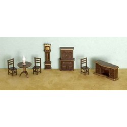 "1/4"" 8 piece Dining Room Set"