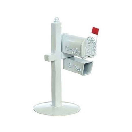 White Rural Mail Box