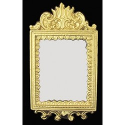 Luxury Gold Mirrored Frame