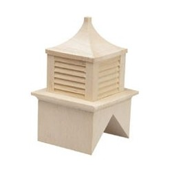 "Wood Cupola 1/2"" Scale"