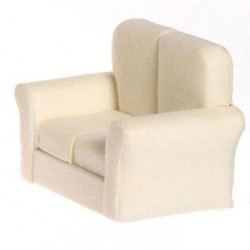 LOVESEAT, WHITE
