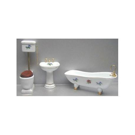 Bath Set, Slipper Tub 4pc