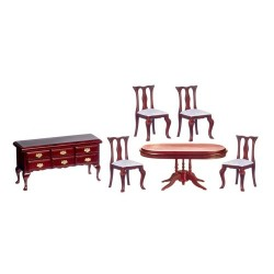 Miniature Dining Room Sets Dollhouse Furniture