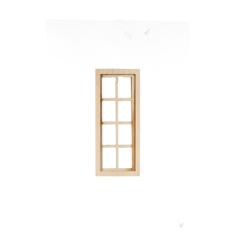 4 over 4 narrow window dollhouse windows superior for Narrow windows for sale