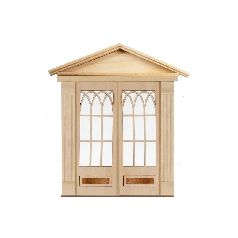Arch Double Door Dollhouse Doors Superior Dollhouse