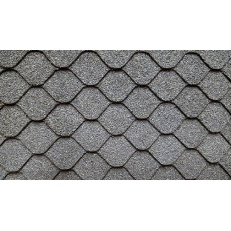 Black Dec Fishscale Asphalt Shingles Dollhouse Roofing