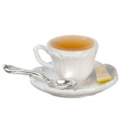 Cup Of Hot Tea W/lemon