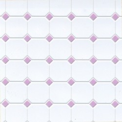 Tile/diamond/12x16/lilac