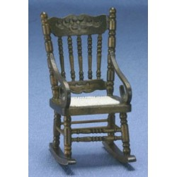 Gloucester Walnut Rocking Chair