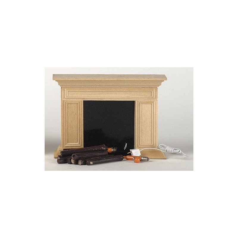 Willmsburg Fireplace 12v Dollhouse Miniature Fireplaces