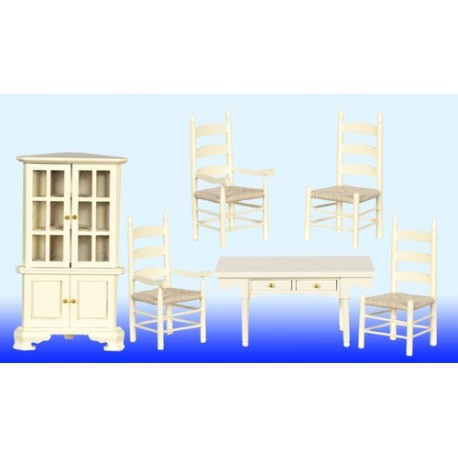 Dining Room Set/6/cream
