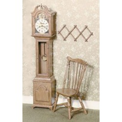 F-100 GRANDFATHER CLOCK KIT, BROWN