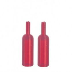Wine Bottles/set/2/red