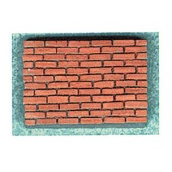 COMMON RED BRICK CORNER, 125 PCS