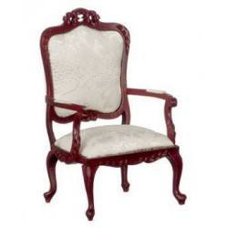 Fancy Victorian Armchair/Mahogany