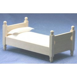 Single Bed with Cover Unfinished
