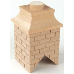 WOOD BRICK CHIMNEY