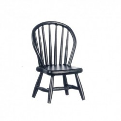 Black Windsor Side Chair