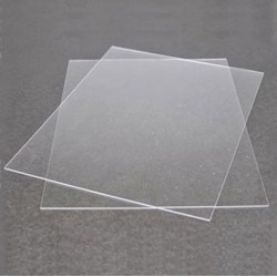 "PLEXIGLASS, 9"" x 12"", 1MM THICK, 2 SHEETS"